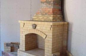 Установка дымоходов камина