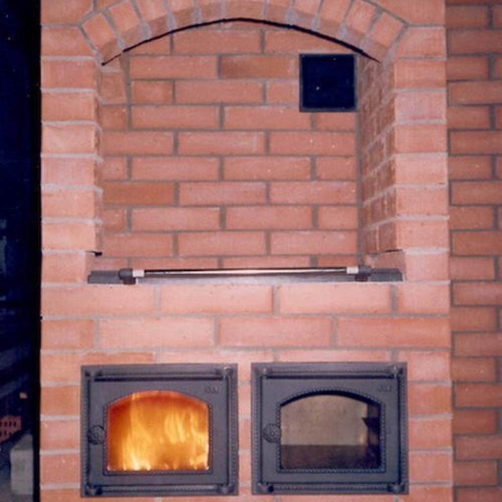 печка шведка с плитой